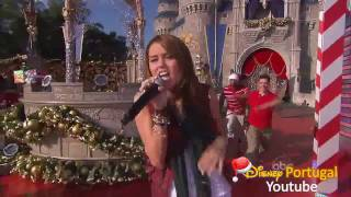 Watch Miley Cyrus Santa Claus Is Coming To Town video