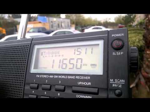 11650 kHz FEBC Radio Bocaue, Philippines