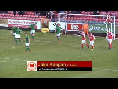 Goal: Jake Keegan (1st vs Bray Wanderers 06/04/2018)