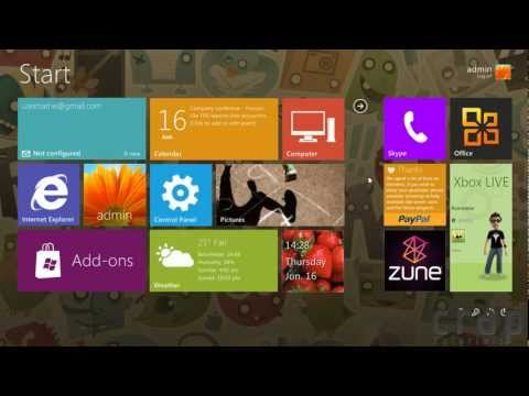 Windows 8 Metro UI Screen For Windows 7- Omnimo 5.0(Rainmeter)- Reviews And Tutorial | How To ...