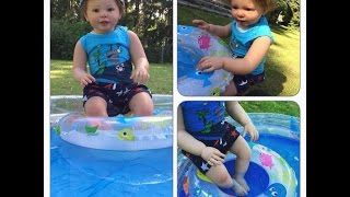 Pool Day With Landen!