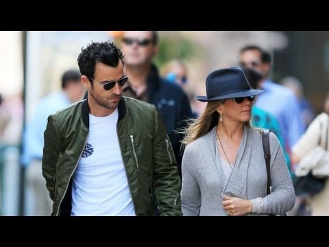 Jennifer Aniston and Justin Theroux Reunite in New York City | POPSUGAR News