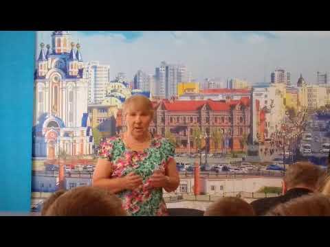 Встреча школьников с ветеранами по случаю 75-летия Курской битвы