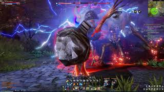 Astellia Online Sorcerer Magic Forest & Story Dungeon