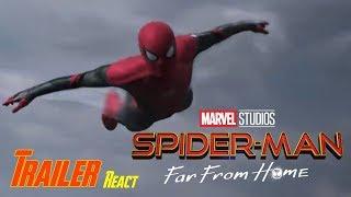 Spider-Man Far From Home Teaser Trailer reaction | The Average-Man