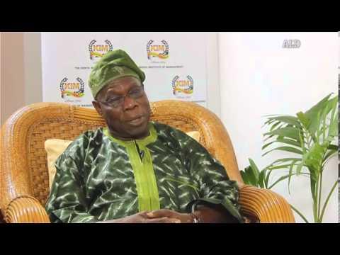 ALD interview with Olusegun Obasanjo