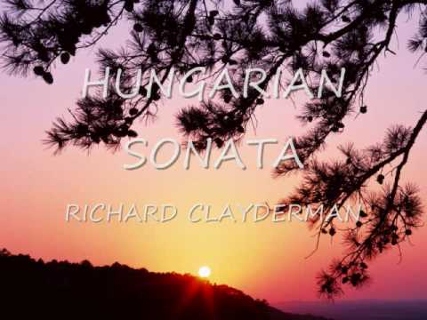 Richard Clayderman - Hungarian sonata Music Videos