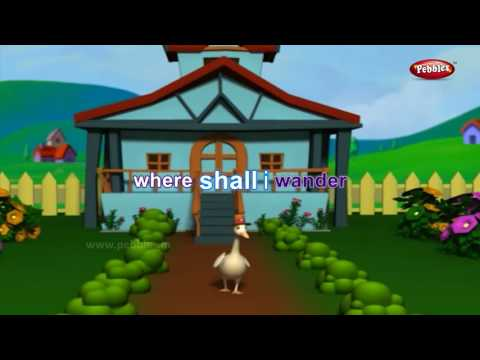 Goosey Goosey Gander Nursery Rhyme With Animated Lyrics   Nursery Rhyme   Baby Rhyme   Nursery Poems