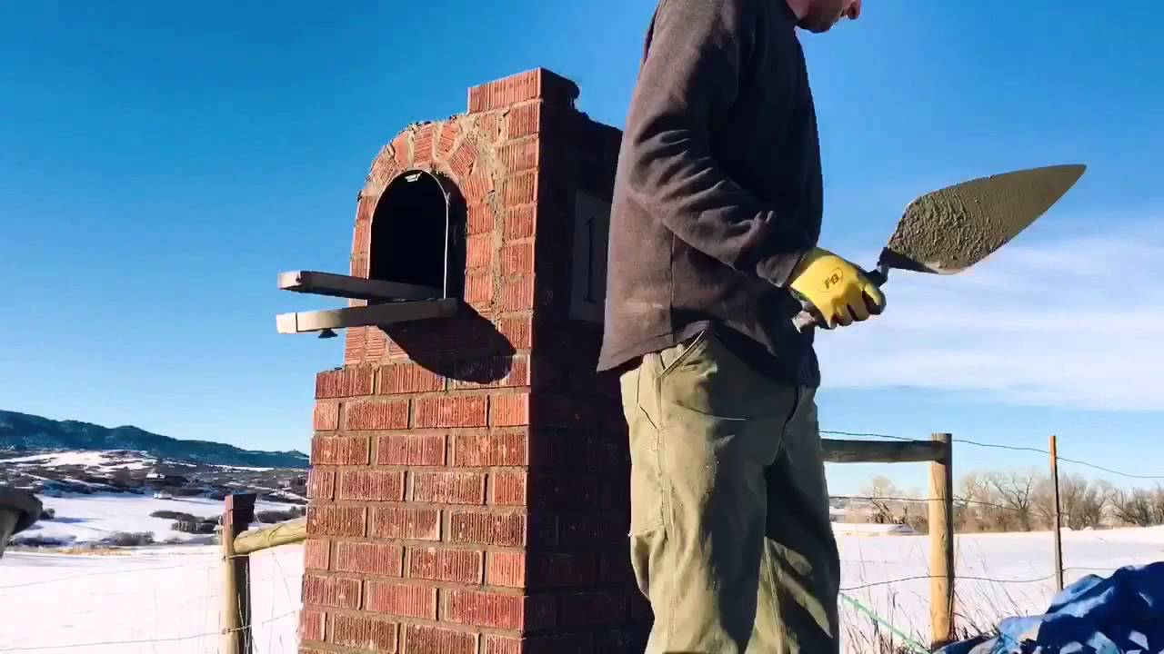 This Brick Mailbox Time-Lapse Video Is Surprisingly Relaxing