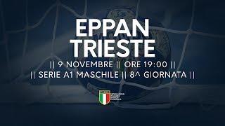 Serie A1M [8^]: Eppan - Trieste 27-27