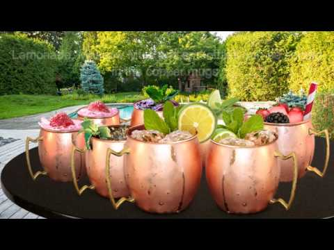 Buxxu Copper Mugs are Available with food Safe Finish coating