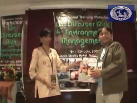 International Training Workshop on Disaster Risk and Environment Management 2008
