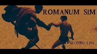 Second Life Romanum Sim