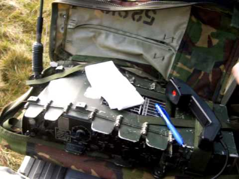 Military radio UK/PRC-320 20m Romania