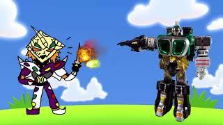 Phim Hoạt Hình Siêu Nhân   Tập 46   Chúa Rừng Tinh Tinh Giúp Robot Siêu Nhân Đánh Bại Yabaiba