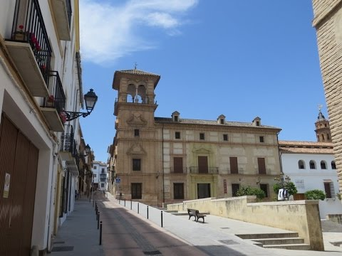 "Antequera, Spain - historic & beautiful ""Old Town"" area"