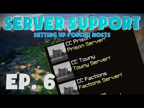 Server Support Ep. 6 | Forced Hosts (Join directly to servers on BungeeCord)