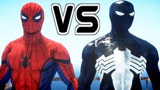 Black Spiderman vs Spider-Man (Civil War)