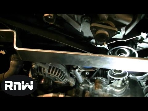 How to Replace the Timing Belt on a VW Passat AUDI A4 A6 2.8L Engine Part 3
