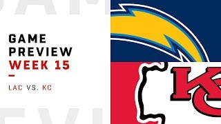 Los Angeles Chargers vs. Kansas City Chiefs | Week 15 Game Preview | Move the Sticks