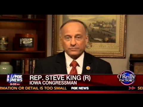 "Congressman Steve King interviewed on ""The O'Reilly Factor"" -- Immigration"