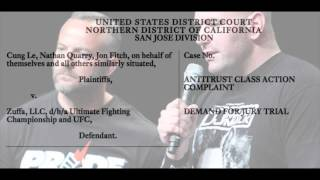 The UFC Anti-Trust Lawsuit Breakdown
