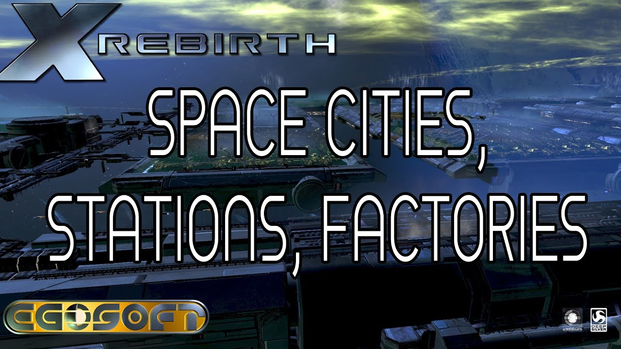 x Rebirth Space Stations And