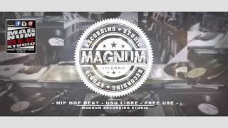 HIP HOP BEAT USO LIBRE ---  FREE USE BEAT ----- MAGNUM REC STUDIO ----- 2018