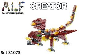 Lego Creator 31073 Mythical Creatures - Lego Speed Build Review