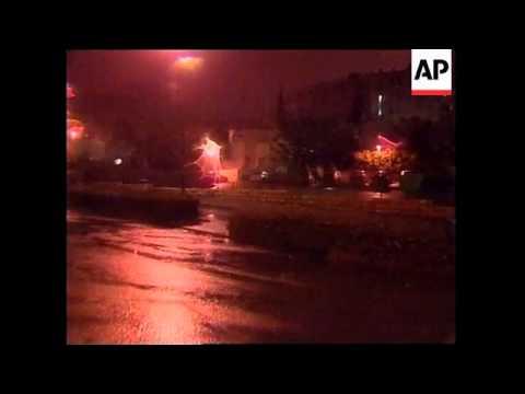 JERUSALEM: PALESTINIAN GUNMEN FIRE AT ISRAELI TARGETS