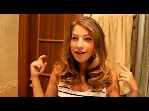 Видео как завивать волосы утюжком