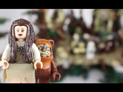 Official pictures of ewok village lego star wars exclusive set 10236