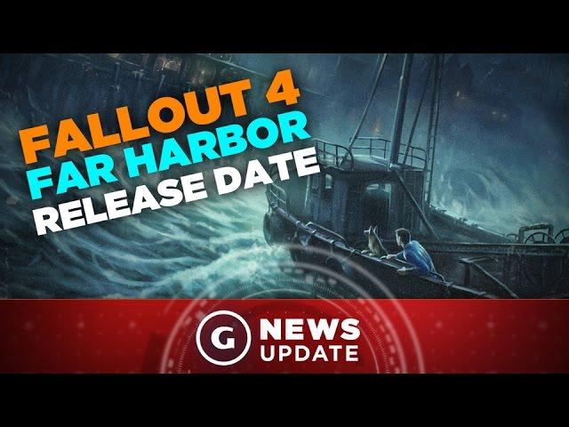 Fallout 4 Far Harbor DLC Release Date! - GS News Update