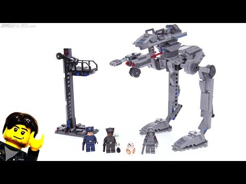 LEGO Star Wars First Order AT-ST review 😠 75201