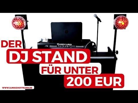 American Audio DJ MTS-4 DJ Stand   DJ Tisch Aufbau, Preise & Infos