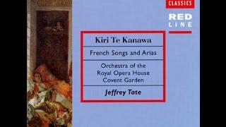 Dame Kiri te Kanawa, French Songs and Arias, Jeffrey Tate