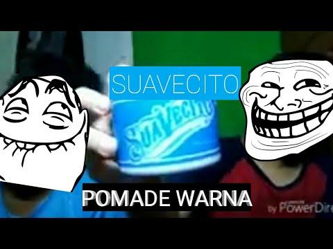 review tentang pomade warna (suavecito) warna biru hahaha