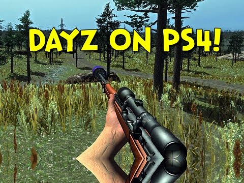 DAYZ ON PS4! - Survive The Nights (Hunting / Fishing)
