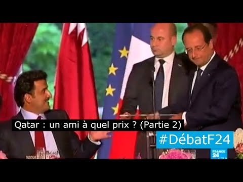 L'émir du Qatar reçu à Paris : le Qatar, un ami à quel prix ? (Partie 2) - #DébatF24