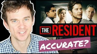 How accurate is THE RESIDENT? Real life DOCTOR reaction