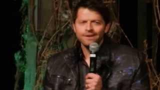 Directing Jared & Jensen and the Pie incident - Misha Collins - VegasCon 2014