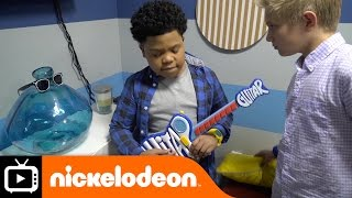 Game Shakers | Dressing Room Tour with Benji and Thomas | Nickelodeon UK
