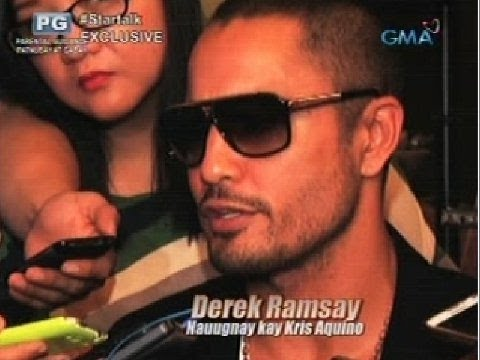 Startalk: Direct from Derek Ramsay
