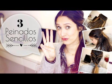 3 Peinados Sencillos para la Semana - Ponte Guapa! ♥