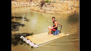 How to build cheap DIY Fishing Boat (PVC Pipe Boat)