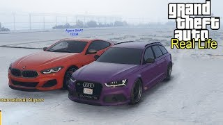 Noul Bmw Seria 8 Vs Audi Rs6 Gta Real Life
