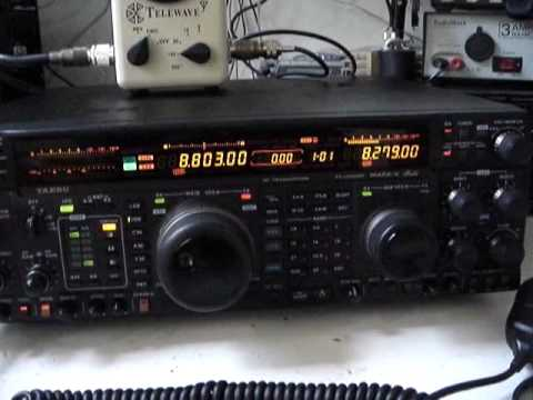 Yaesu FT-1000MP MKV Field RX Radio Mexico HF SSB Telephone Service Ship to Shore
