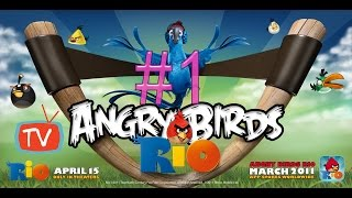 Angry Birds Rio 2 - Part 1 Playground Gameplay