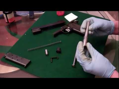 Kimber 1911 Field Strip - Clean / Oil / Reassemble (Part 2 of 2)