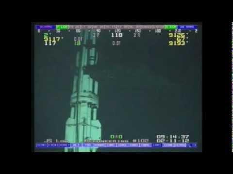 Sleeper shark @ 9100' deep offshore Brazil